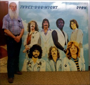 "Three Dog Night ""Cyan"" Board - 6x6ft"
